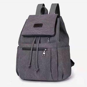 School bag canavas shoulder bag travel satchel